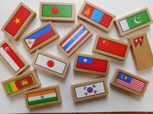 アジアの国々